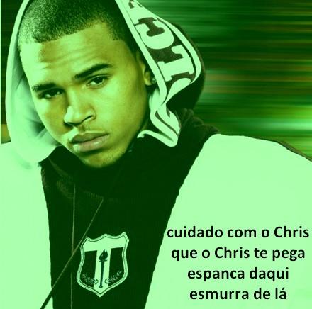 não me bate Chris Brown!